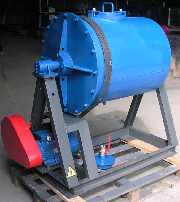 Мельница МШМП-06 футерованная полиуретаном
